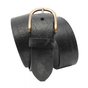 Kranz Ledergürtel Schwabinger in schwarz