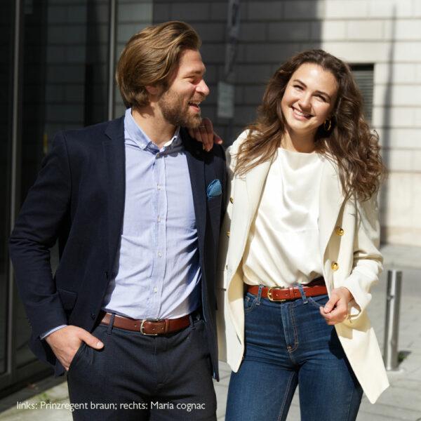 Models mit Prinzregent braun + Maria cognac Modellen